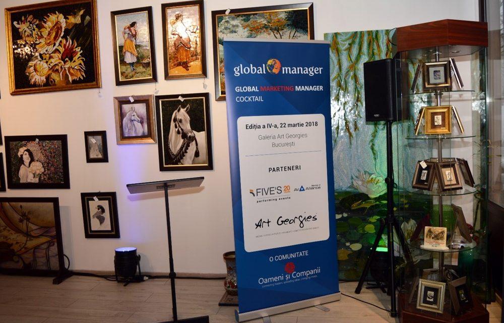 O nouă întâlnire a comunității de Marketing, la Galeria Art Georgies