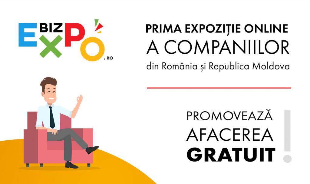 BIZEXPO.RO – Prima Expoziție Online a companiilor din România și Republica Moldova