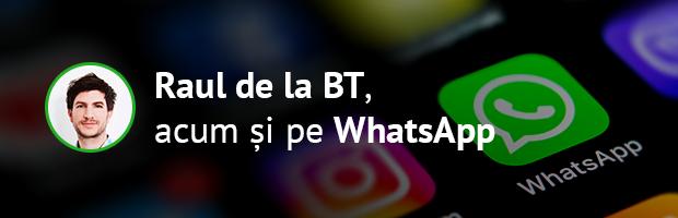 Chatbot Banca Transilvania dedicat pentru IMM, acum și pe WhatsApp