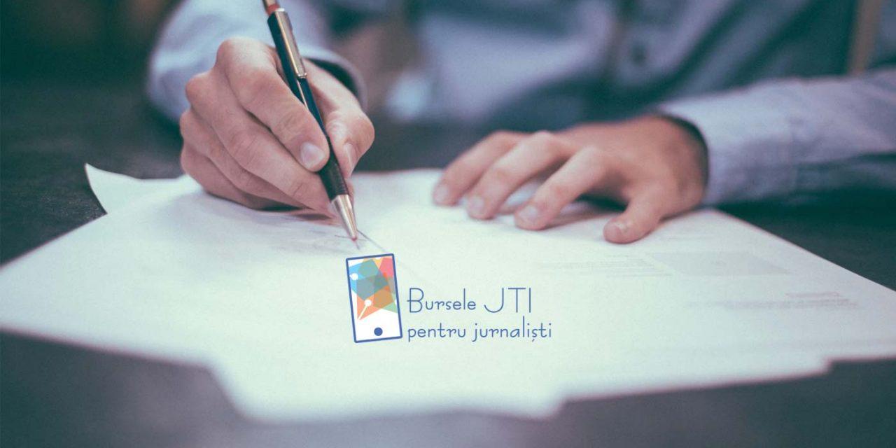 Bursele JTI pentru jurnaliști – lansarea ediției 2020-2021