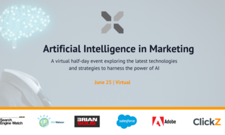 Eveniment ClickZ: inteligența artificială în marketing, 25 iunie