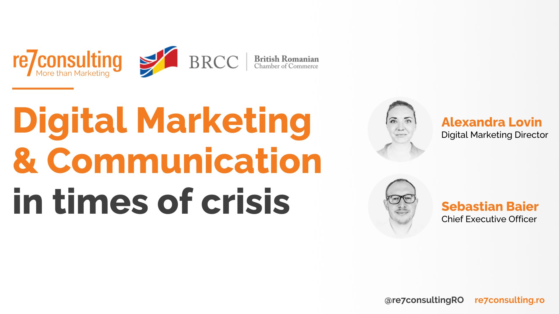 Webinar BRCC: Digital Marketing & Communication in Times of Crisis