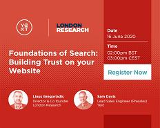 Webinar: fundamentele căutării. Cum construiești încredere în site-ul tău