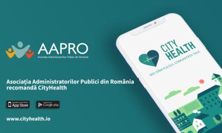 Asociația Administratorilor Publici din România (AAPRO) și platforma CityHealth susțin dezvoltarea competențelor de digitalizare ale administratorilor publici