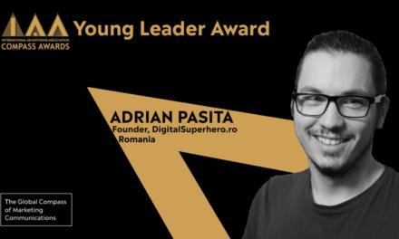Românul Adrian Pașita, unul din cei patru câștigători Young Leader Compass Awards 2020