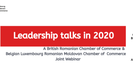 Leadership Talks in 2020 – un eveniment BRCC, 9 iunie, pe Zoom