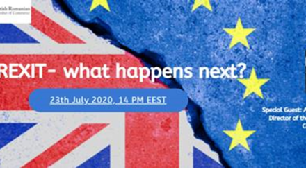 Eveniment BRCC: Brexit – What happens next?