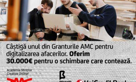 UniCredit Bank și Asociația Brand Minds lansează granturi în valoare totală de 30.000 de euro