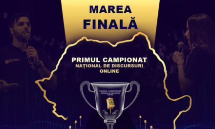 Finala Campionatului Național de Discursuri Online – 14 iulie, ora 18.18
