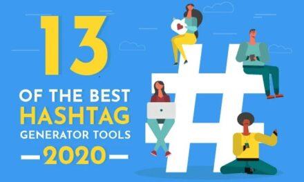 Infografic: 13 tool-uri generatoare de hashtag-uri, utile în strategia de social media