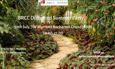 Celebrează căldura verii cu BRCC, pe 30 iulie