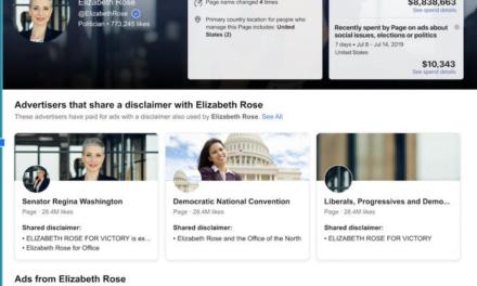 Facebook adaugă noi instrumente pentru a urmări cheltuielile publicitare politice prin intermediul bibliotecii sale de reclame