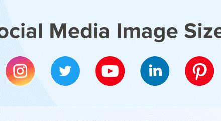 Infografic: ghidul imaginilor în conturile sociale