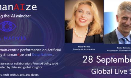 Etica și Inteligența Artificială: subiecte de actualitate incluse în agenda forumului digital organizat de #humanAIze și Data Natives