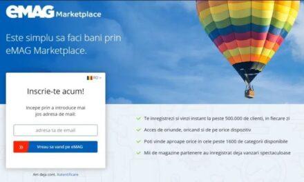 eMAG lansează o aplicație de promovare a produselor pe site dedicată partenerilor săi din Marketplace
