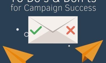 Infografic: ce să faci și ce să nu faci într-o campanie de e-mail de marketing de succes