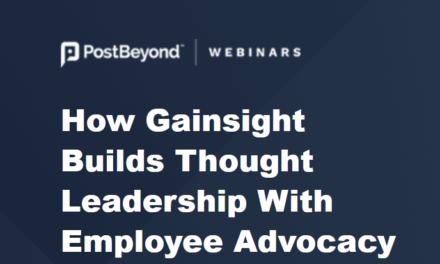 Webinar: Cum a creat Gainsight un standard de advocay cu ajutorul angajaților