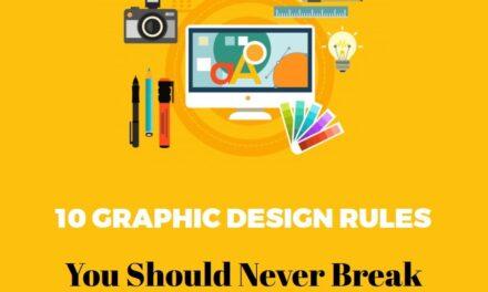 Infografic: 10 reguli de grafic design pe care să nu le încalci niciodată