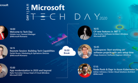 App innovation este tema primei zile a Microsoft Tech Day