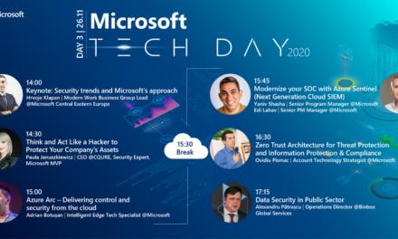 Astăzi este ultima zi în care vă puteți înscrie la Microsot Tech Day