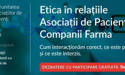 O nouă întâlnire a Comunității Asociațiilor de Pacienți, CASPA, dezvoltată de Oameni și Companii