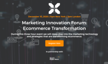 Marketing Innovation Forum: Ecommerce Transformation