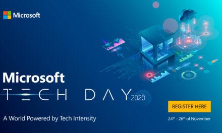 A patra ediție a Microsoft Tech Day are loc între 24 și 26 noiembrie