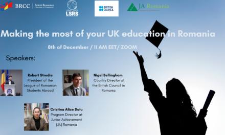 Profitați la maximum de educația din Marea Britanie în România