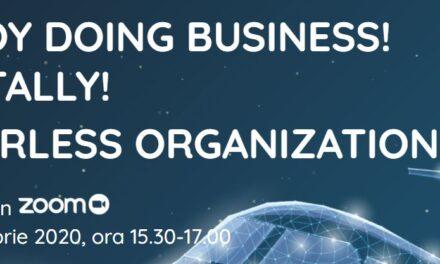 Digitalizarea organizațiilor a fost tema webinarului organizat de GlobalManager.ro și Wing Leading Edge