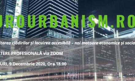 A șasea întâlnire digitală în programul EuroUrbanism