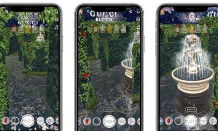 """Un parfum Gucci deschide portalul Snapchat către o """"grădină a viselor"""" virtuală"""