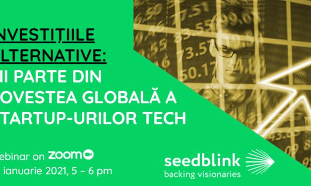 Investiții alternative – tema webinarului organizat de GlobalManager.ro și SeedBlink