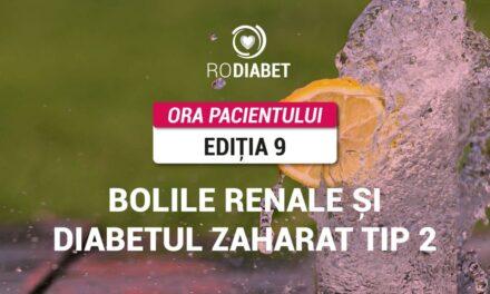 Ora Pacientului RoDiabet: Bolile renale și diabetul zaharat tip 2, analizate la cea de-a noua întâlnire a comunității