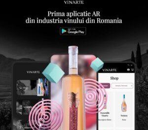 Vinarte lansează prima aplicație AR din industria vinului