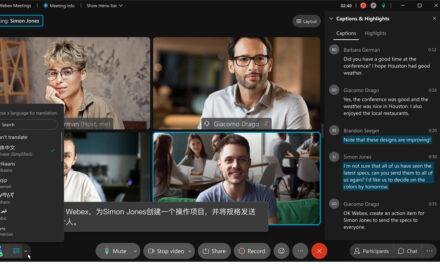 Cisco Webex lansează funcția de traducere în timp real