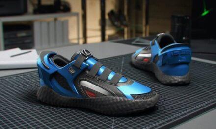 Lexus pătrunde în lumea pantofilor sport, cu un model inspirat de brand