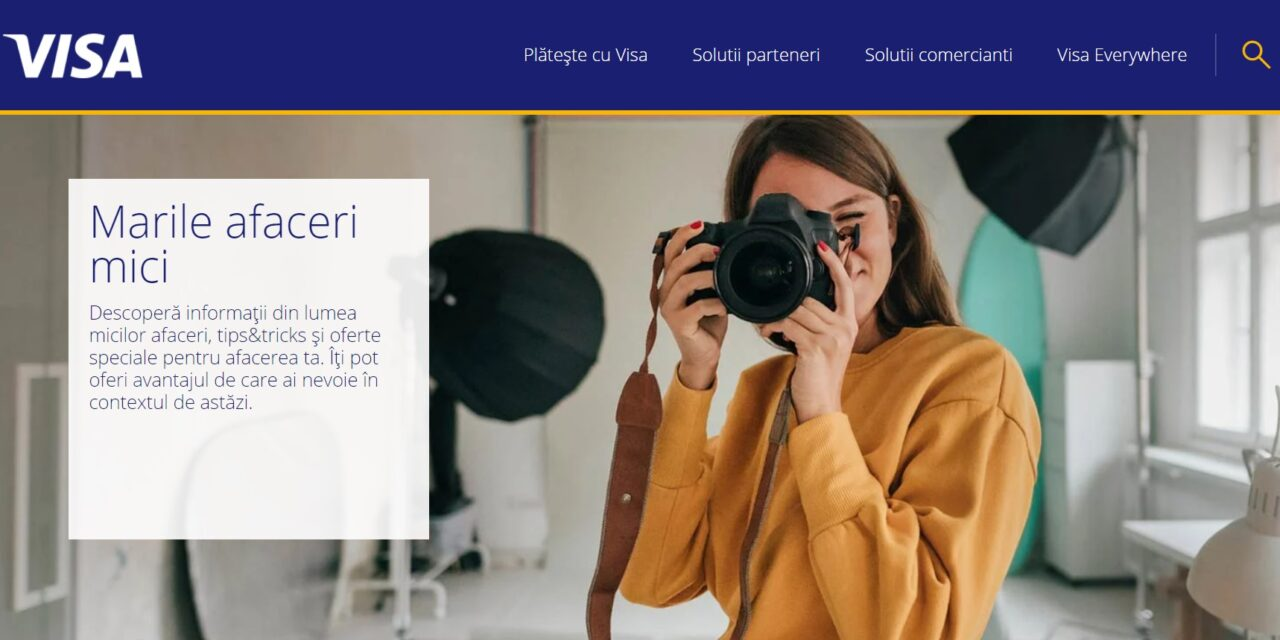 Visa lansează o platformă integrată cu soluții pentru digitalizarea afacerilor mici și mijlocii din România