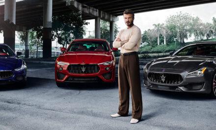 Maserati îl numește pe David Beckham ambasador global al brandului