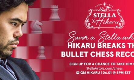 Stella Artois face echipă cu un maestru într-o provocare de șah pe Twitch