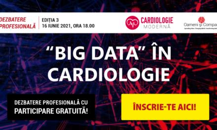 """Comunitatea OSC – CardiologieModernă: """"Big Data în cardiologie"""" la întâlnirea din 16 iunie"""