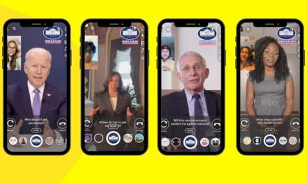 Casa Albă folosește Snapchat pentru a informa audiențele tinere despre vaccinare