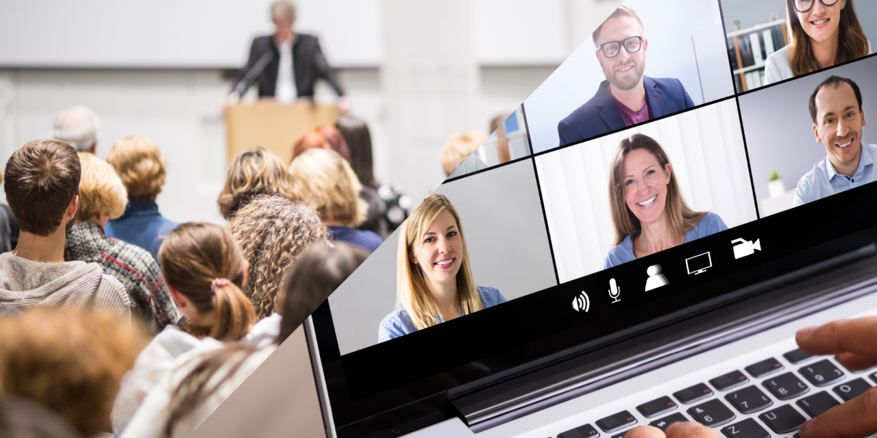 Viitorul evenimentelor: online și hibrid