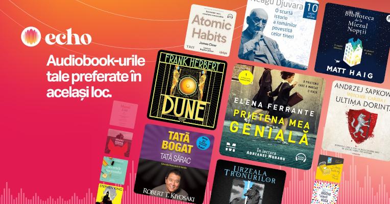 A fost lansat Echo, prima platformă românească de audiobooks