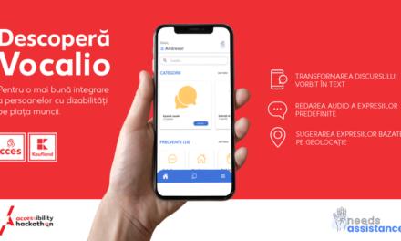 Kaufland prezintă Vocalio, aplicația care ajută persoanele cu deficiențe de vorbire și auz
