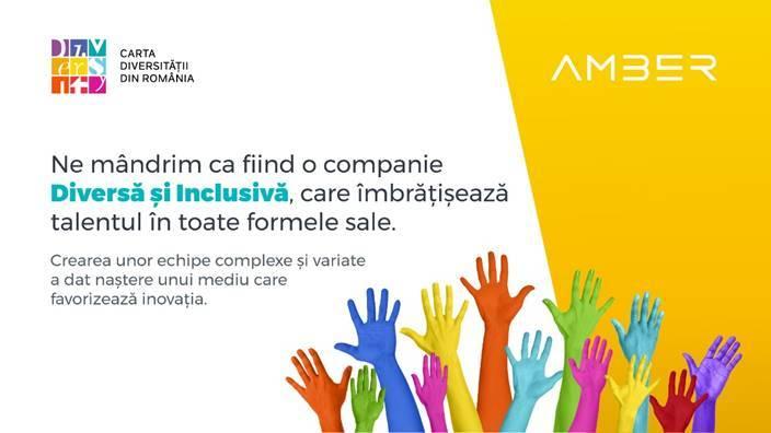 Amber, prima companie românească de gaming care semnează Carta Diversităţii