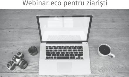 EcoForum – webinar dedicat jurnaliștilor pe tema managementului și reciclării deșeurilor